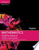 GCSE Mathematics for Edexcel Higher Problem solving Book Book