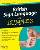 British Sign Language For Dummies Pdf/ePub eBook