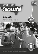 Books - Oxford Successful English First Additional Language Grade 8 Teachers Guide | ISBN 9780199049554