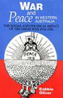 War and Peace in Western Australia