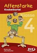 Affenstarke Knobelkartei: Kl. 4 - Band 4