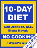 10 Day No Cooking Diet Book PDF