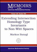 Extending Intersection Homology Type Invariants to Non Witt Spaces