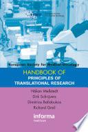 ESMO Handbook on Principles of Translational Research