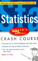 Schaum's Easy Outline of Statistics