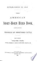 The American Short-horn Herd Book