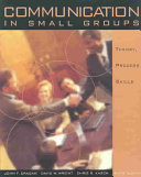 Communication in Small Groups Book PDF