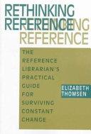 Rethinking Reference