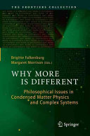 Why More Is Different Book