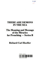 There Are Demons In The Sea