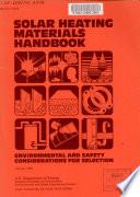 Solar Heating Materials Handbook