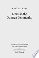 Ethics In The Qumran Community