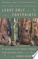 Leave Only Footprints Book PDF