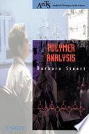 Polymer Analysis Book PDF