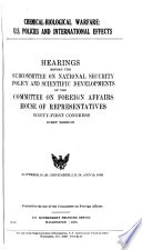 Hearings Reports And Prints Of The House Committee On Foreign Affairs