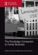 The Routledge Companion to Family Business