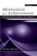 Motivation for Achievement