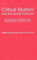 Critical realism and the social sciences