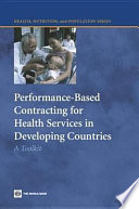 Performance Based Contracting For Health Services In Developing Countries