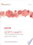 HCPCS Level II Expert 2018 (Spiral)