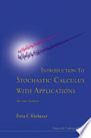 Introduction To Stochastic Calculus With Applications  2nd Edition