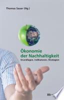 Ökonomie der Nachhaltigkeit