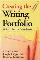 Creating the Writing Portfolio