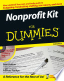 """Nonprofit Kit For Dummies"" by Stan Hutton, Frances Phillips"