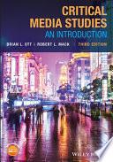 Critical Media Studies Book