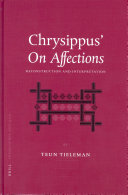 Chrysippus    On Affections