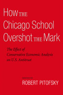 Pdf How the Chicago School Overshot the Mark Telecharger