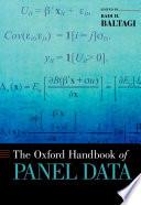 The Oxford Handbook of Panel Data Book