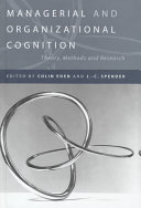 Managerial and Organizational Cognition