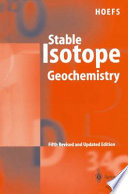 Stable Isotope Geochemistry Book PDF