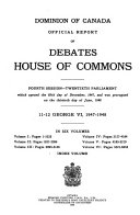 Canadian Parliamentary Proceedings And Sessional Papers 1841 1970
