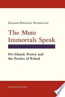 The Mute Immortals Speak Pdf/ePub eBook