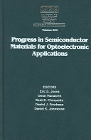 Progress in Semiconductor Materials for Optoelectronic Applications  Volume 692