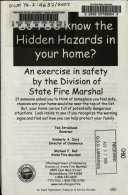 Do YOU Know the Hidden Hazards in Your Home