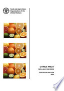 Citrus Fruit - Fresh and Processed