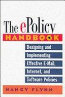 The E-policy Handbook