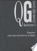 Rapporto sullo stato dell'editoria in Italia