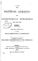 Nautical Almanac and Astronomical Ephemeris
