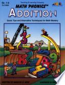 Math Phonics Addition Enhanced Ebook
