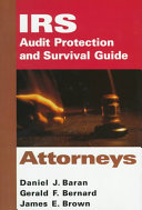 Irs Audit Protection And Survival Guide Attorneys Book PDF