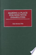Making a Place for Kids with Disabilities Book