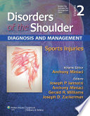 Disorders of the Shoulder  Sports Injuries