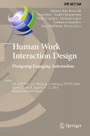 Human Work Interaction Design  Designing Engaging Automation