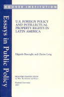 U S  foreign policy and intellectual property rights in Latin America
