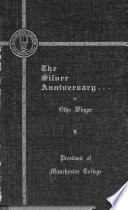 The Silver Anniversary of Otho Winger, 1877-1946