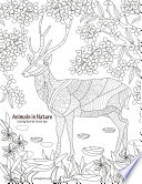 Animals in Nature Coloring Book for Grown Ups 1